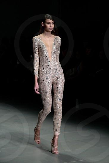 London fashion week Julien McDonald collection.  photo