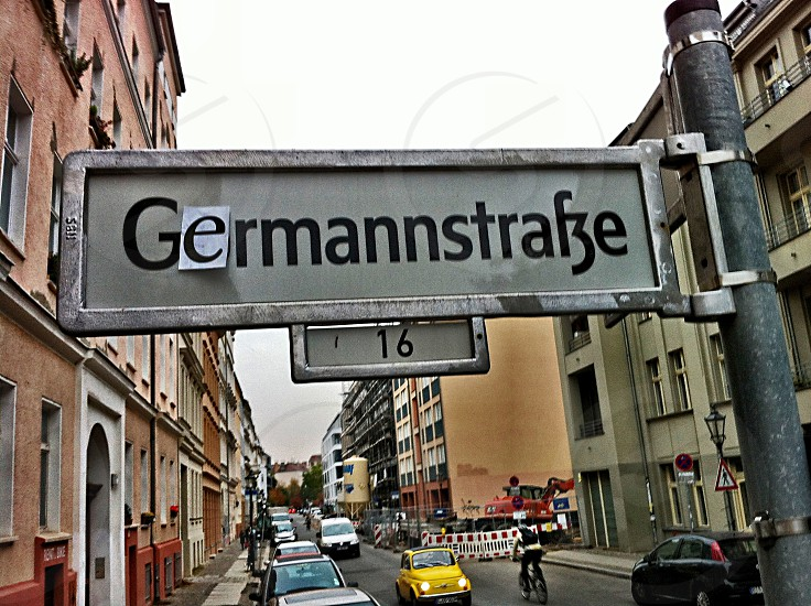 A sense of humor and style in Mitte Berlin. photo