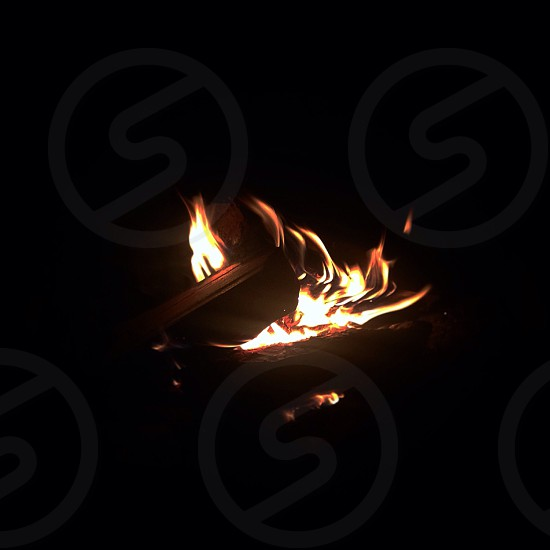 burning fire photo