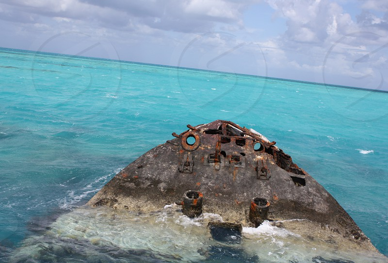 Bermuda shipwreck photo