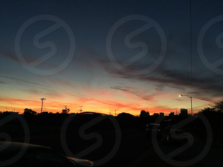 AZ sunset  photo