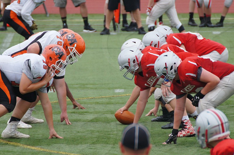 Line of scrimmage      photo