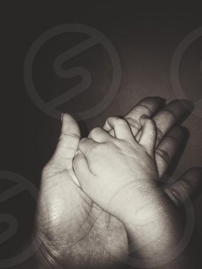 Hands babymommother handnight photo