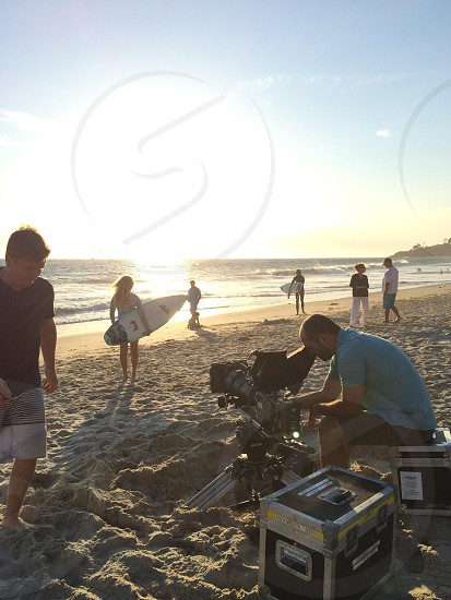 IMAX surfer model artdocumentarybeach photo