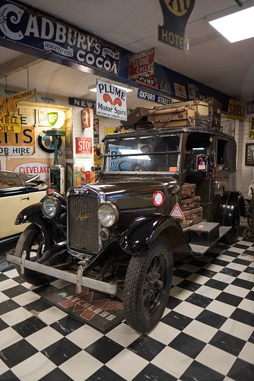 Austin Taxi 1935 in the Motor Museum at Bourton-on-the-Water photo