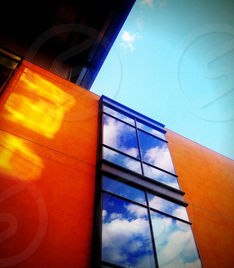 clear window glass photo