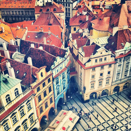 Prague from above  photo