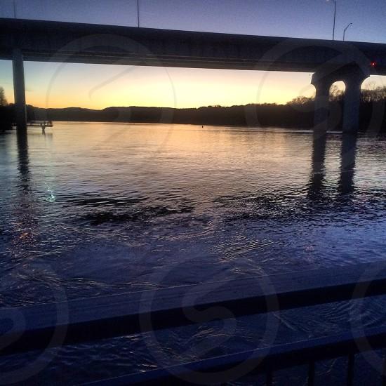 Water bridge  photo