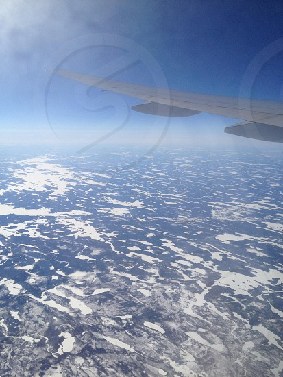 Over the North Pole photo