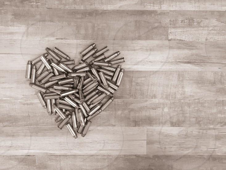 Heart bullets photo