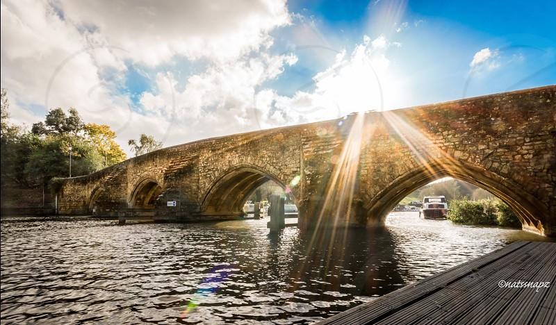 East Farleigh bridge.  photo