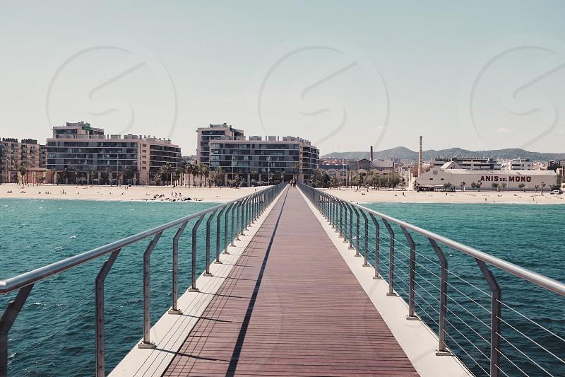 steel docking path photo