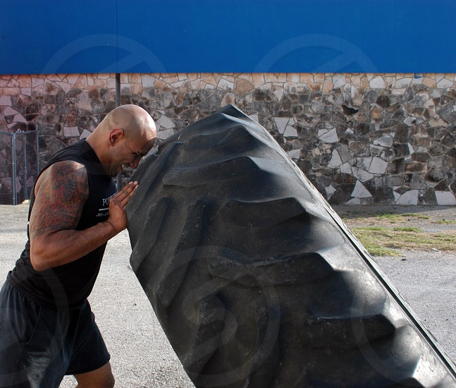 crossfit extreme workout exercise fitness photo