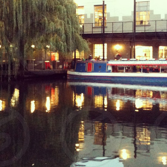 Camden Town Camden Canal London photo