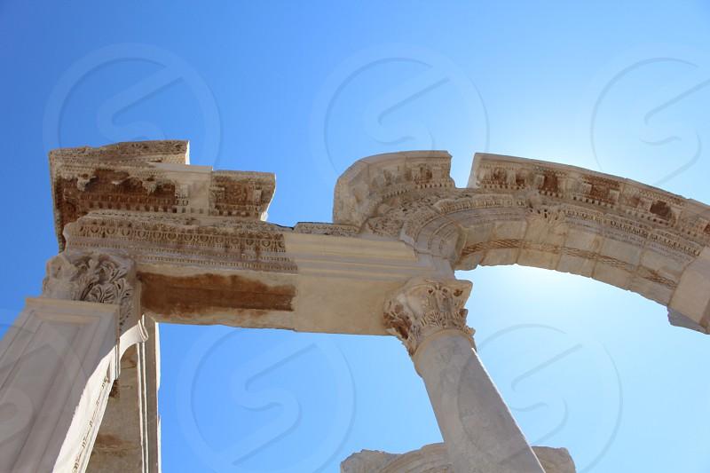 Europe ruins  photo