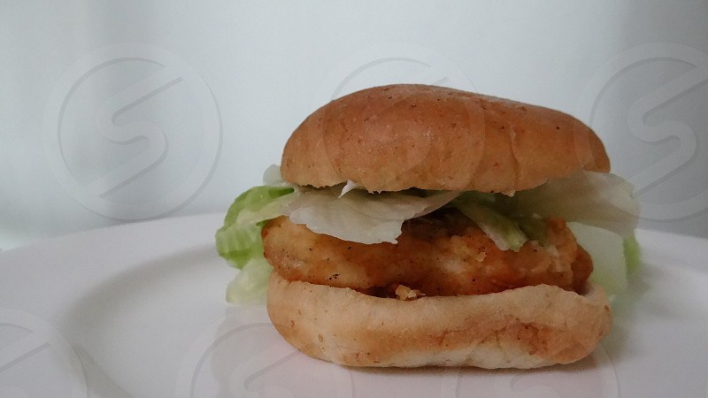 チキンサンド Chicken sandwich photo