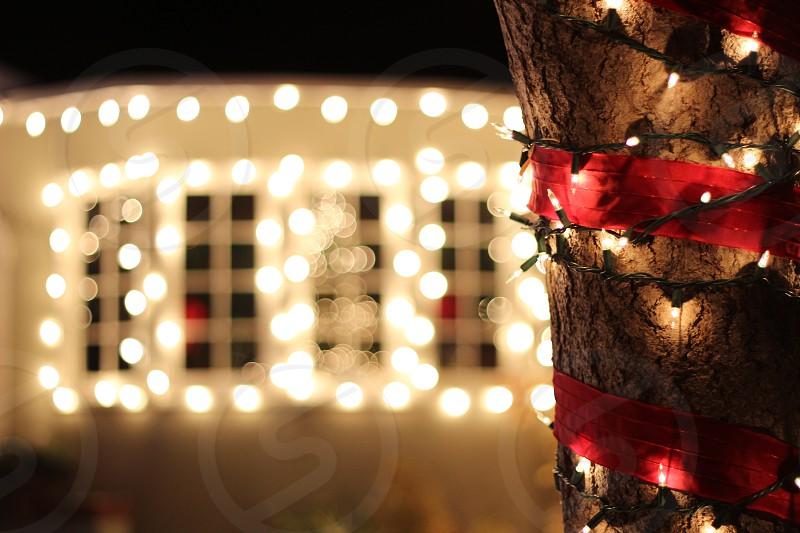 Holidays Streetside lights Home Christmas photo
