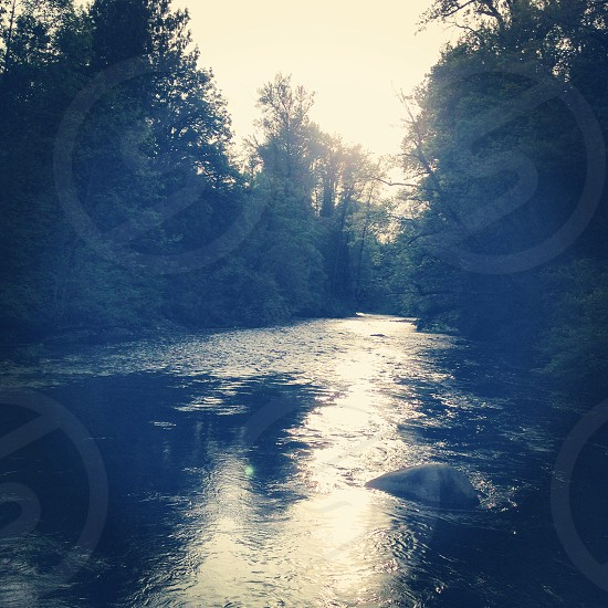 The Pilchuck river close to home photo