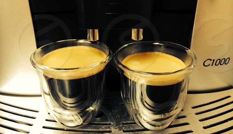 Espresso shots  photo