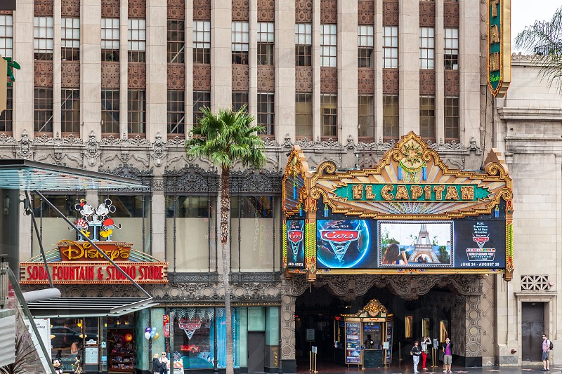 El Capitan Theatre  in Hollywood photo