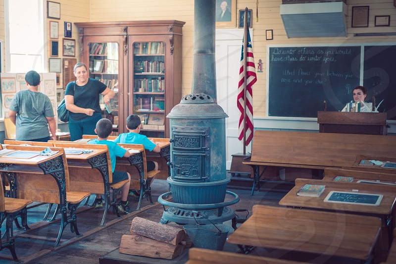 Schoolhouse old schoolhouse  photo