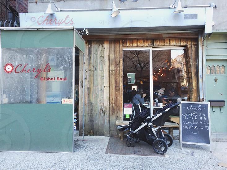 Front door at Cheryl's.  photo
