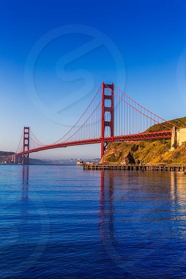 San Francisco Golden Gate Bridge California USA photo