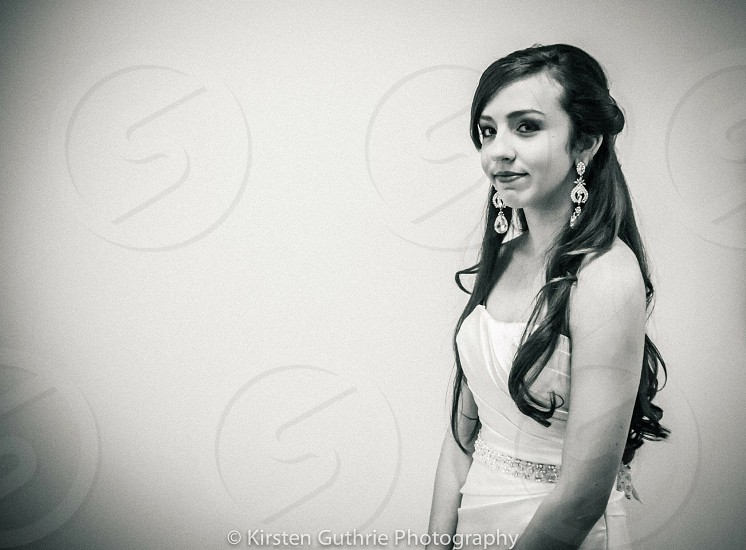 woman in tube top dress grayscale photography photo