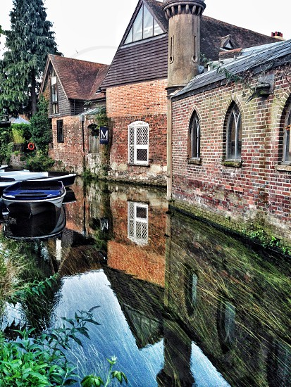 Kent England Canterbury uk reflection photo