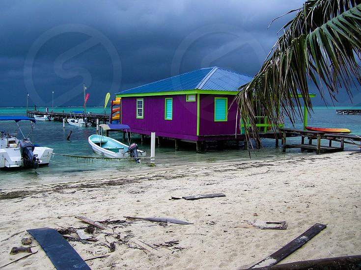 Belize tropicalbeach photo