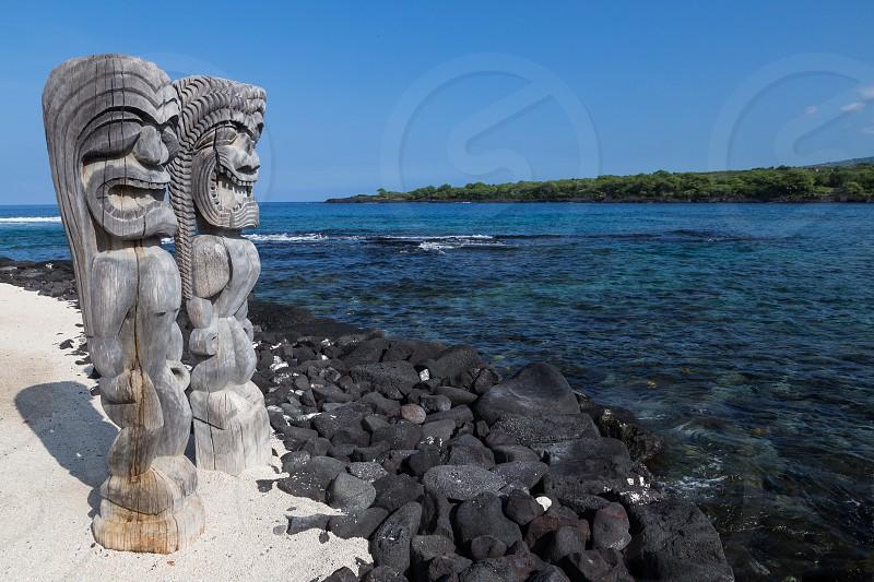 Puuhonua Honaunau National Historical Park Place of Refuge Hawaii photo