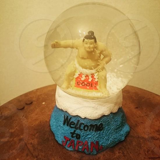 スノードーム 相撲 日本 photo