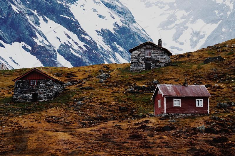 Norwegian cabins  photo
