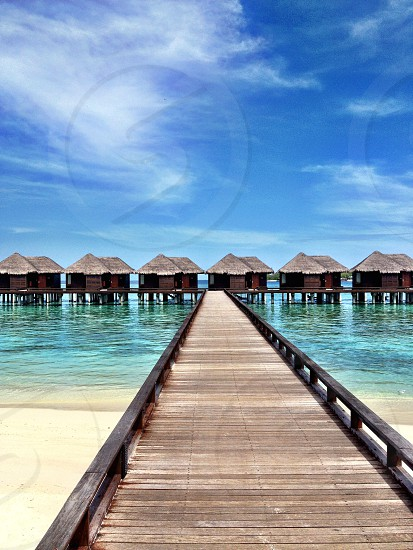 Overwater Bungalows - Sheraton Maldives photo