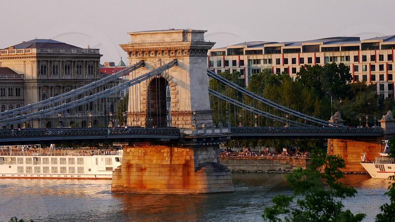 Chain Bridge Budapest  photo