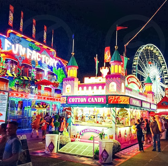 The state fair is just so beautiful photo