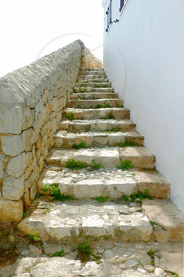 Narrow steps up in Ibiza Town (Eivissa) photo