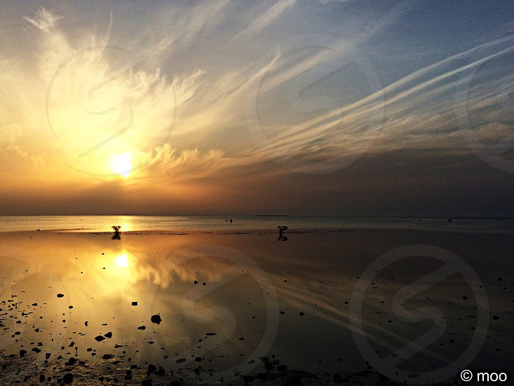 Sunset redsea photo