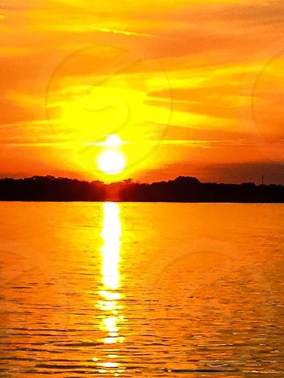 Lake Sunset 2 photo