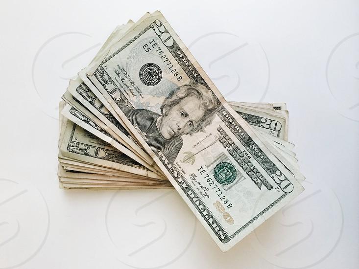 20 u.s dollars photo