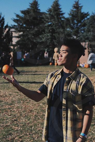 pump pumpkin photo
