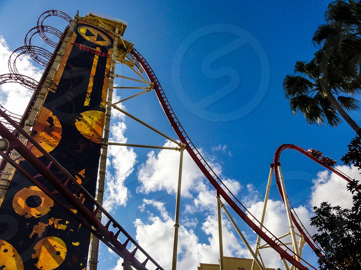 Universal Hollywood Rip Ride Rockit - Orlando FL USA photo