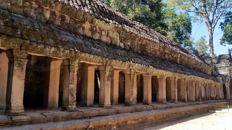 Ta Phrom Siem Reap photo
