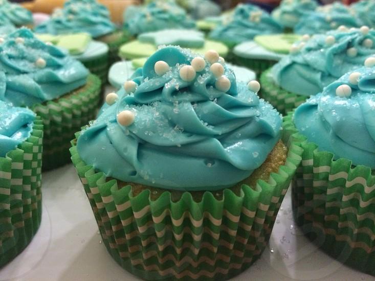 Cupcake Blue photo
