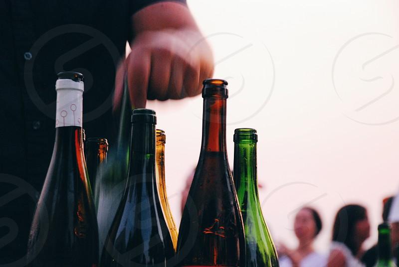 outdoor wine tasting photo