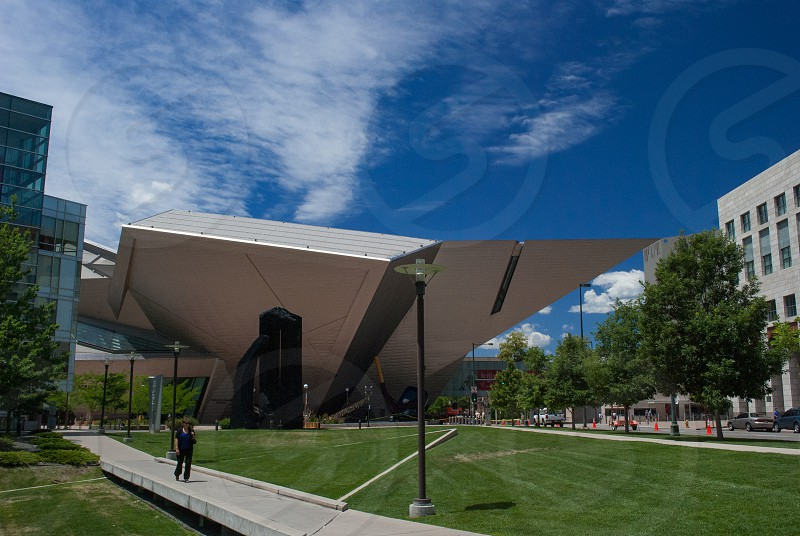 Denver Art Museum summer photo