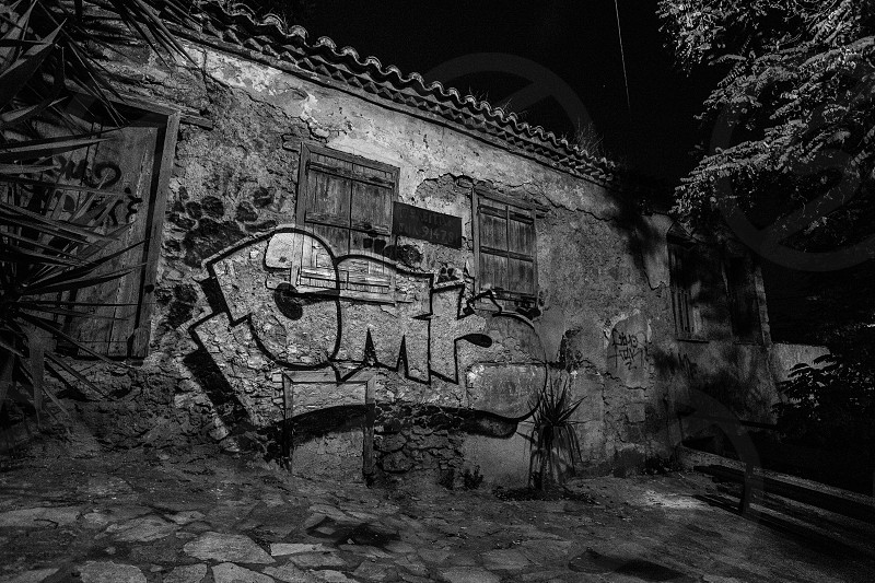 Abandoned - Captured this image of an abandoned premises in Athens Greece. photo