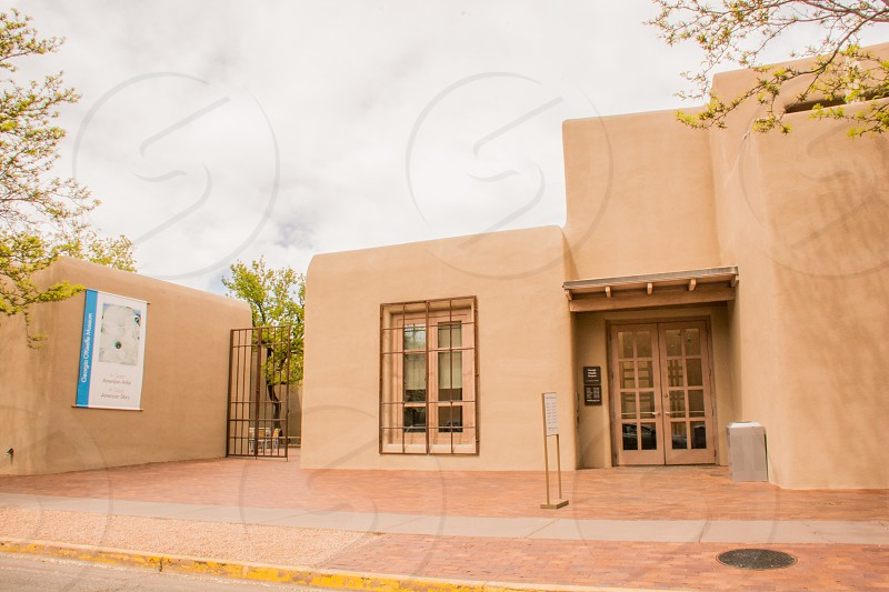 Georgia OKeeffe Museum in Santa Fe New Mexico USA photo
