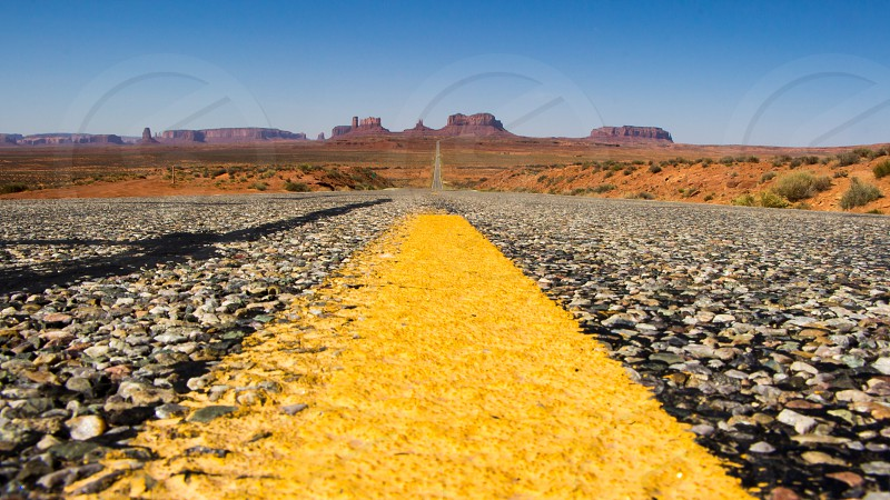 Road to Monument Valley photo