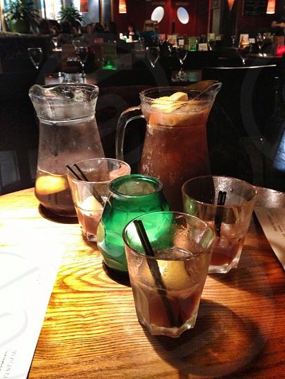 Long Island Tea cocktails  photo